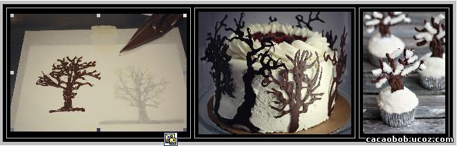 шоколадные деревья