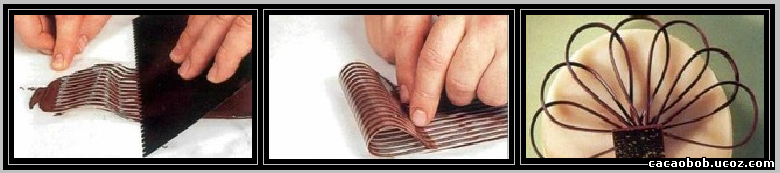 шоколадные петли