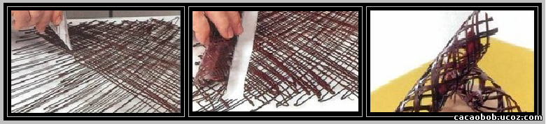 трубочки из шоколада